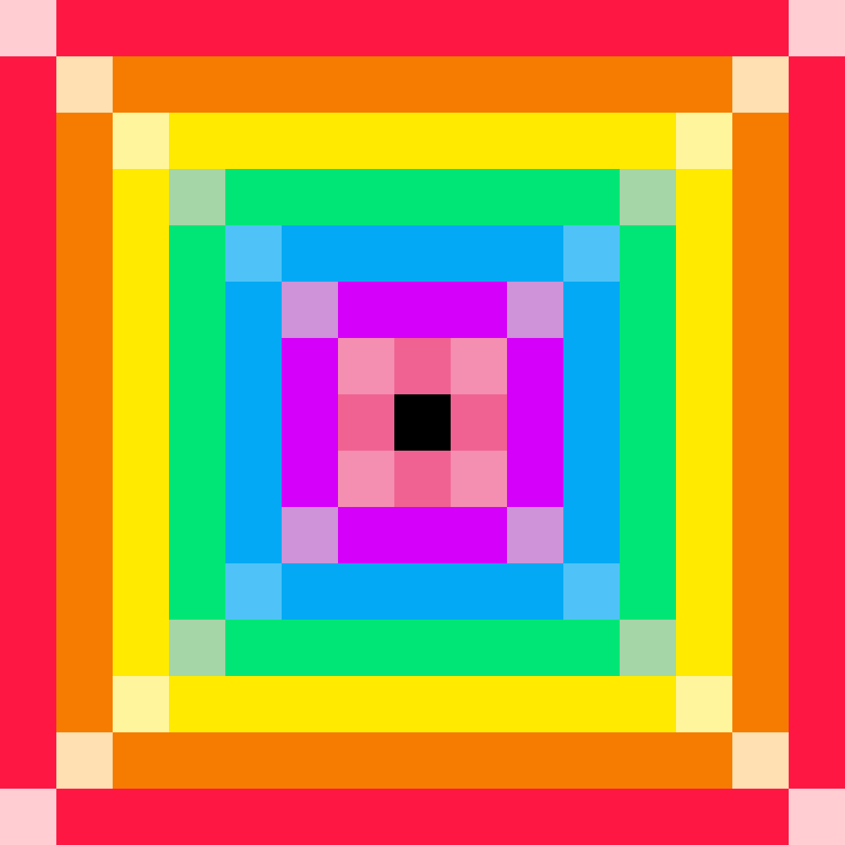 Rainbow dropper by yeeangel