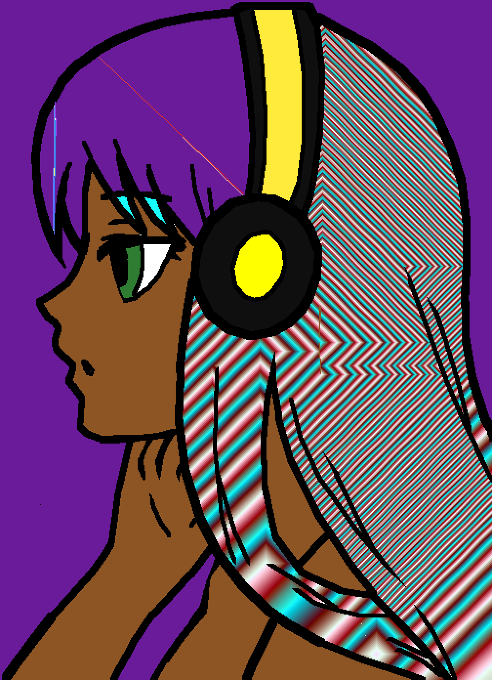 cool colored hair  by urjgnevfskmD