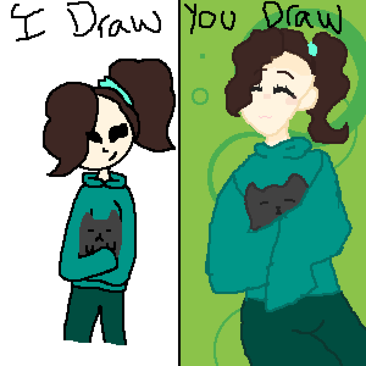 I draw You draw  by Snailzz