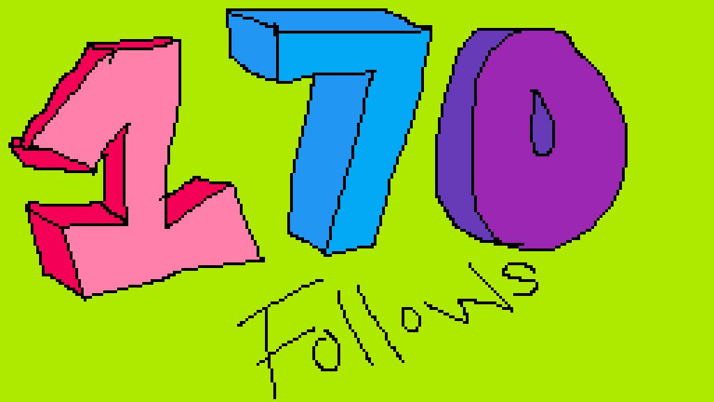 170 follows by LittlePixil