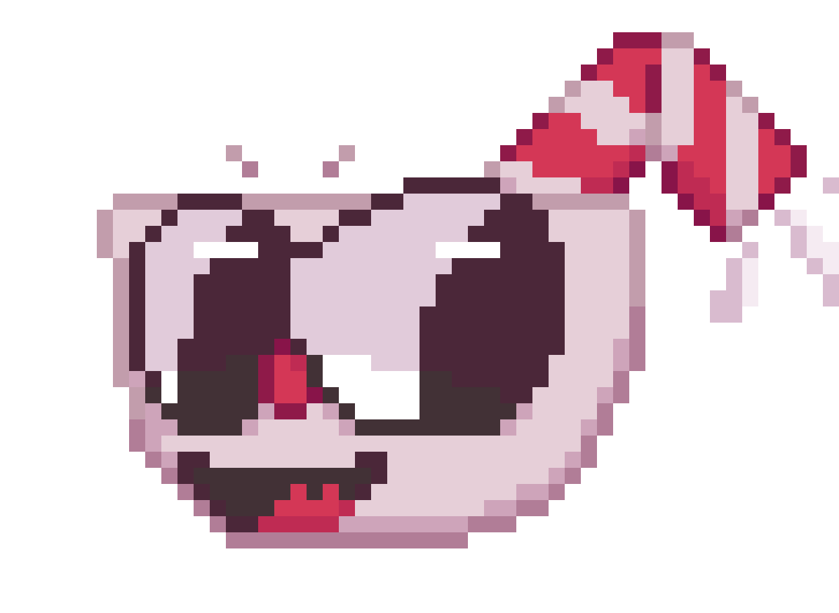 main-image-Cuphead Pixel head - Cuphead  by FluffButt