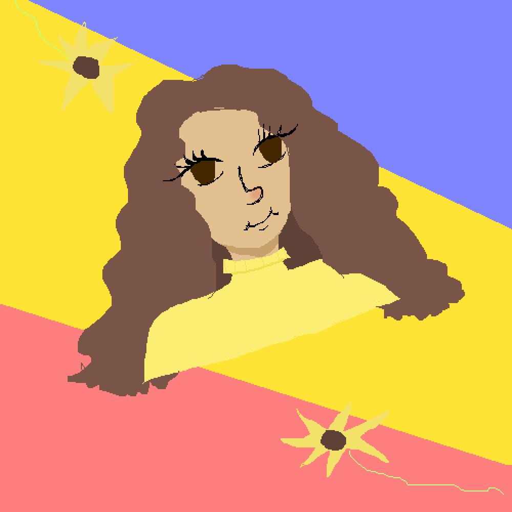 Sunflower Personne by myriethewarrior