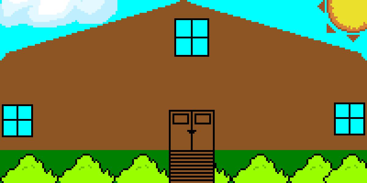 Pixilart - my house by pixelartmaster1
