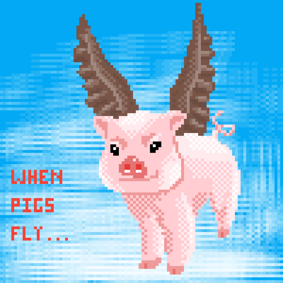 When Pigs Fly... by 6hexagon6