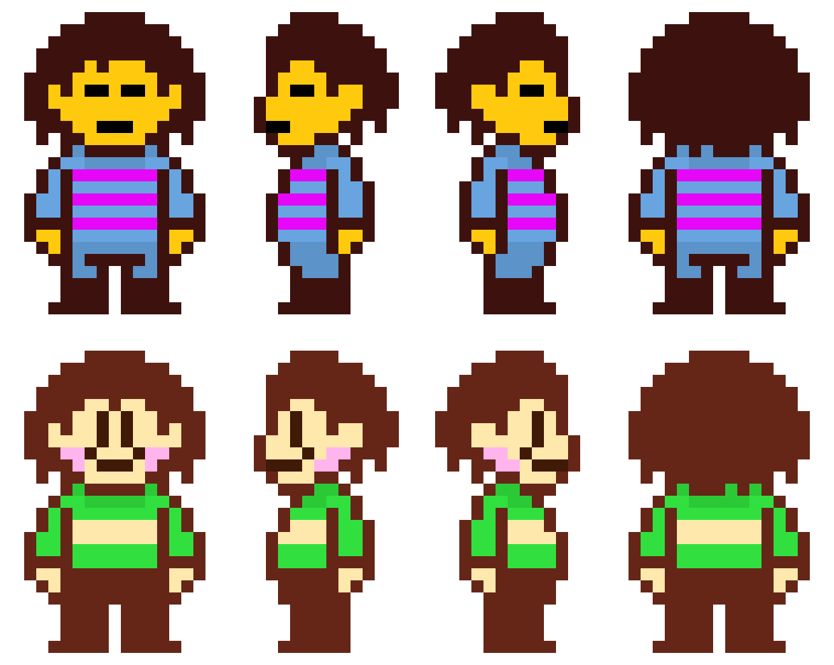 Try These Undertale Chara Sprite Resource {Mahindra Racing}
