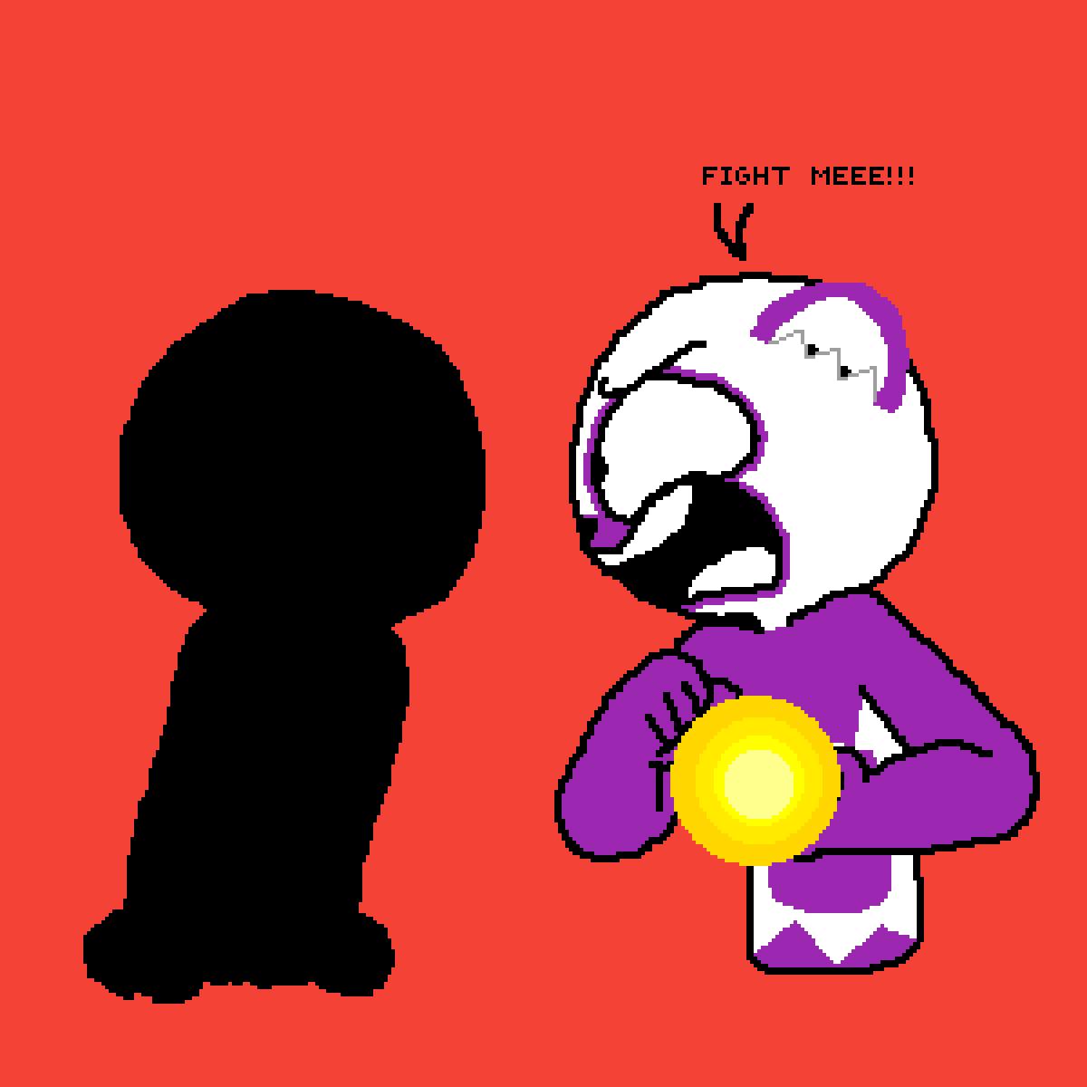 SOMEONE FIGHT ME!!!!!!!! by Purplepanda1121