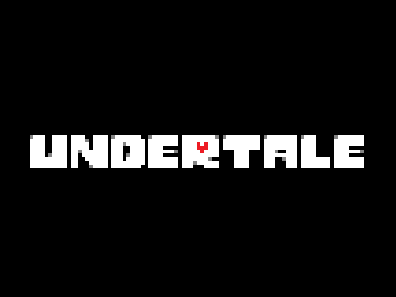 UNDERTALE Logo Template by leobars17