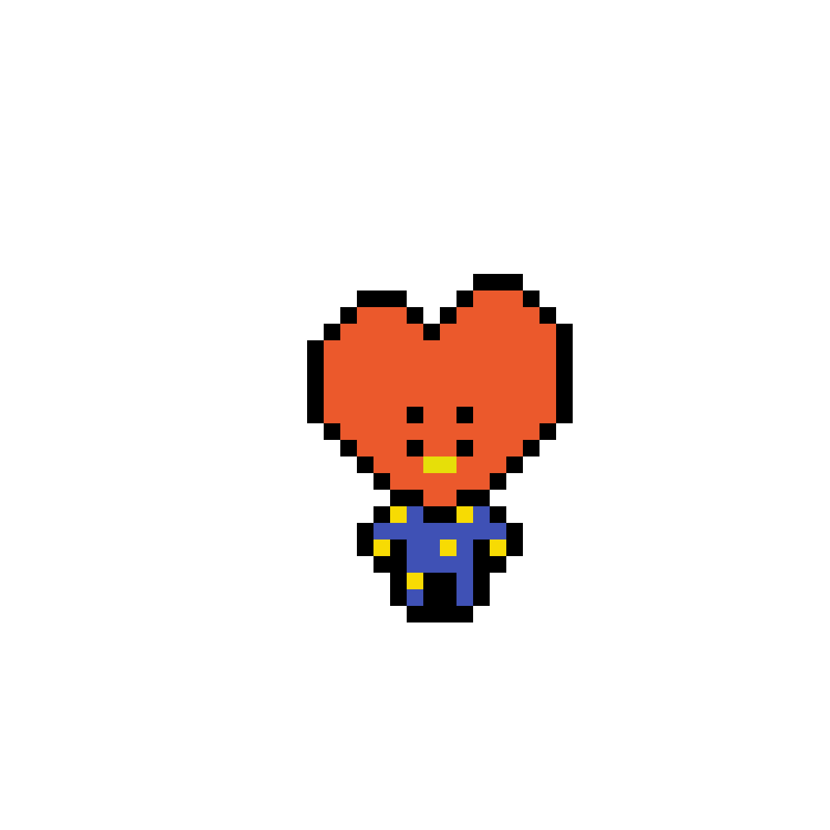 Pixilart - BT21 Pixel art for EDI (DO NOT D E L E T E) by Anonymous