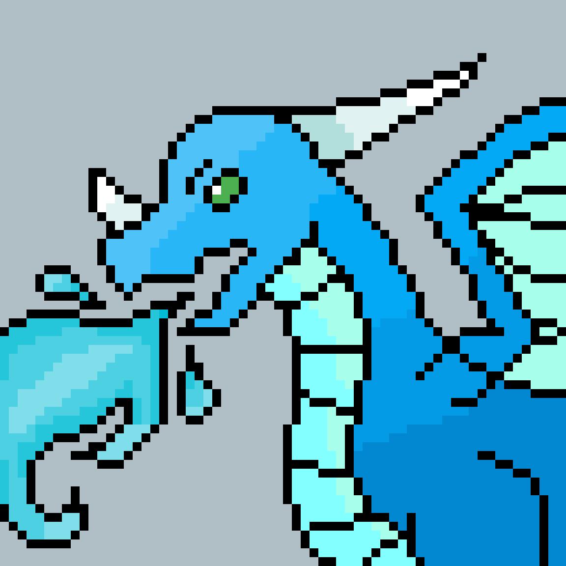 My dragon (it sucks) by WolfiedotExe