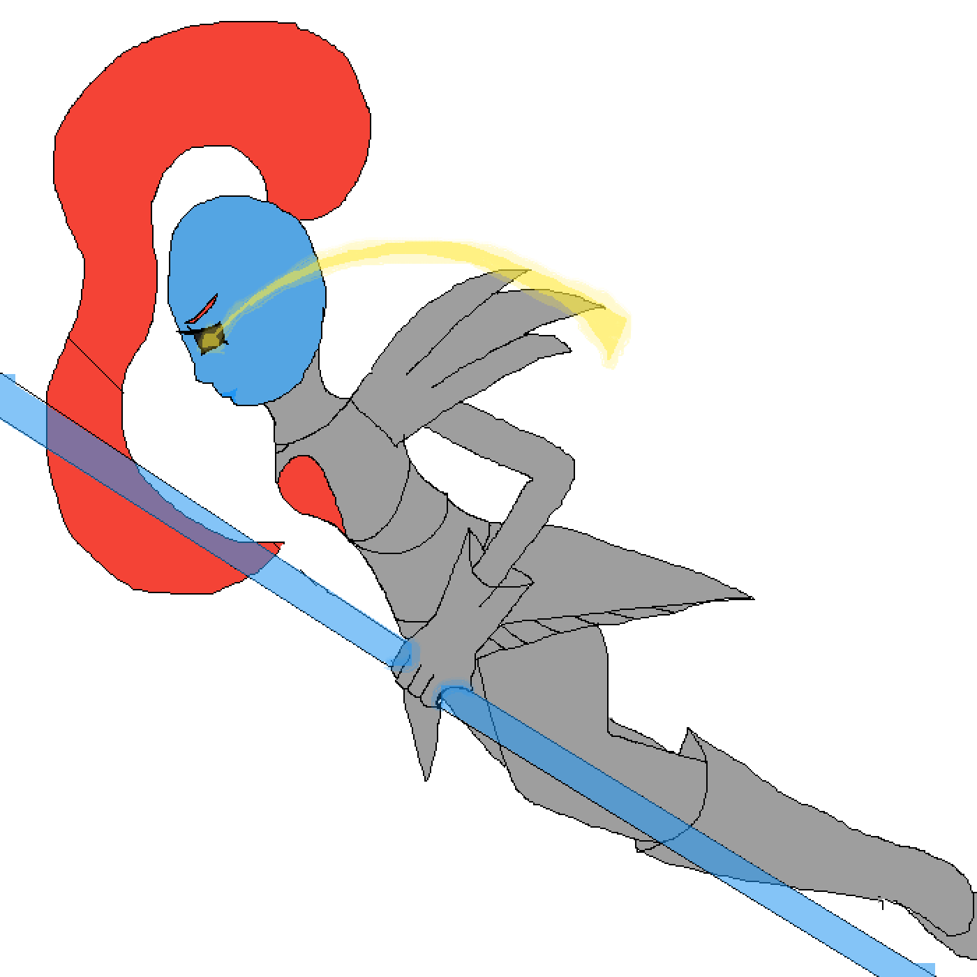 Undyne the undying by Meowi-me