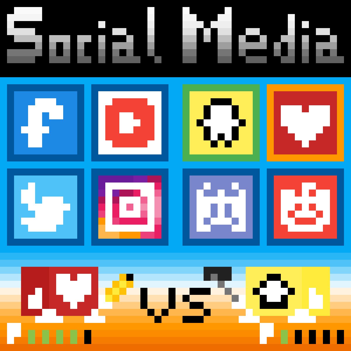 Social Media Battle! by Squidy-Boi