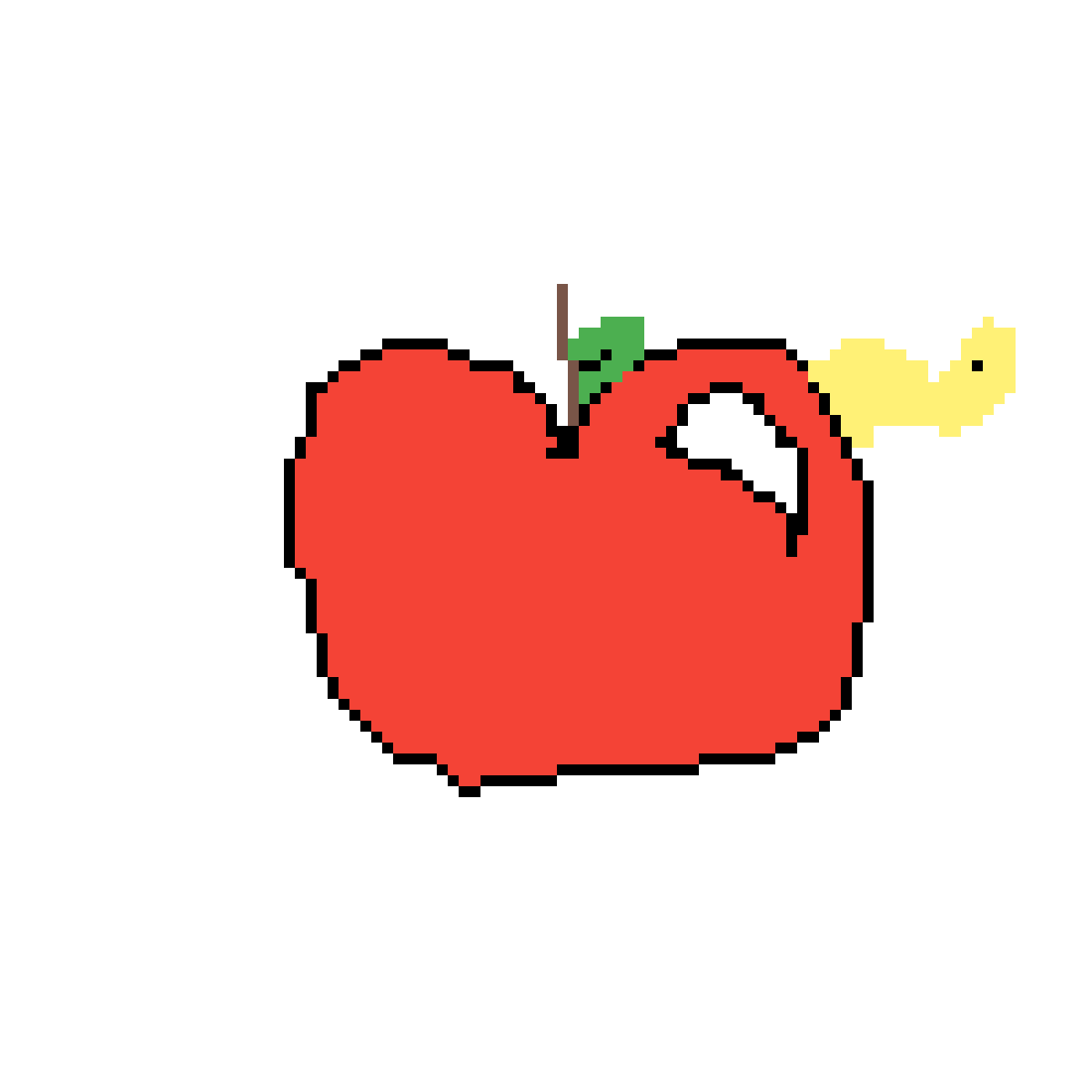 main-image-Shiney Wormy Apple  by Wolfpack