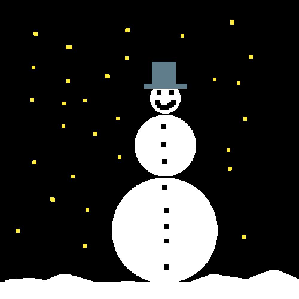 Snowman by MegaMage4575