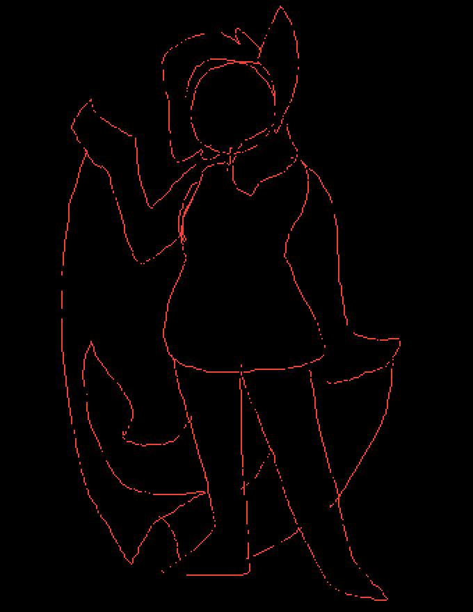 Pixilart Belle Bat Oc Sketch By Kayleedraws