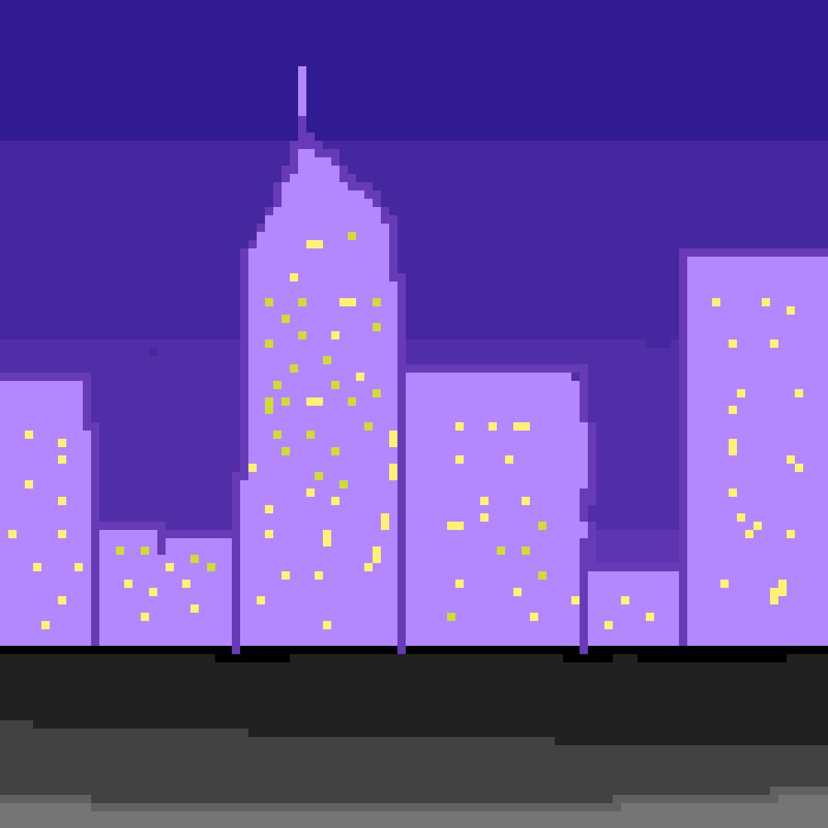 City Night by rarapiopio