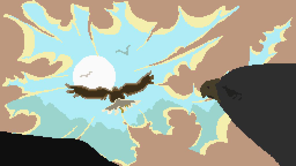 Sun Eagle by CyrilRylic