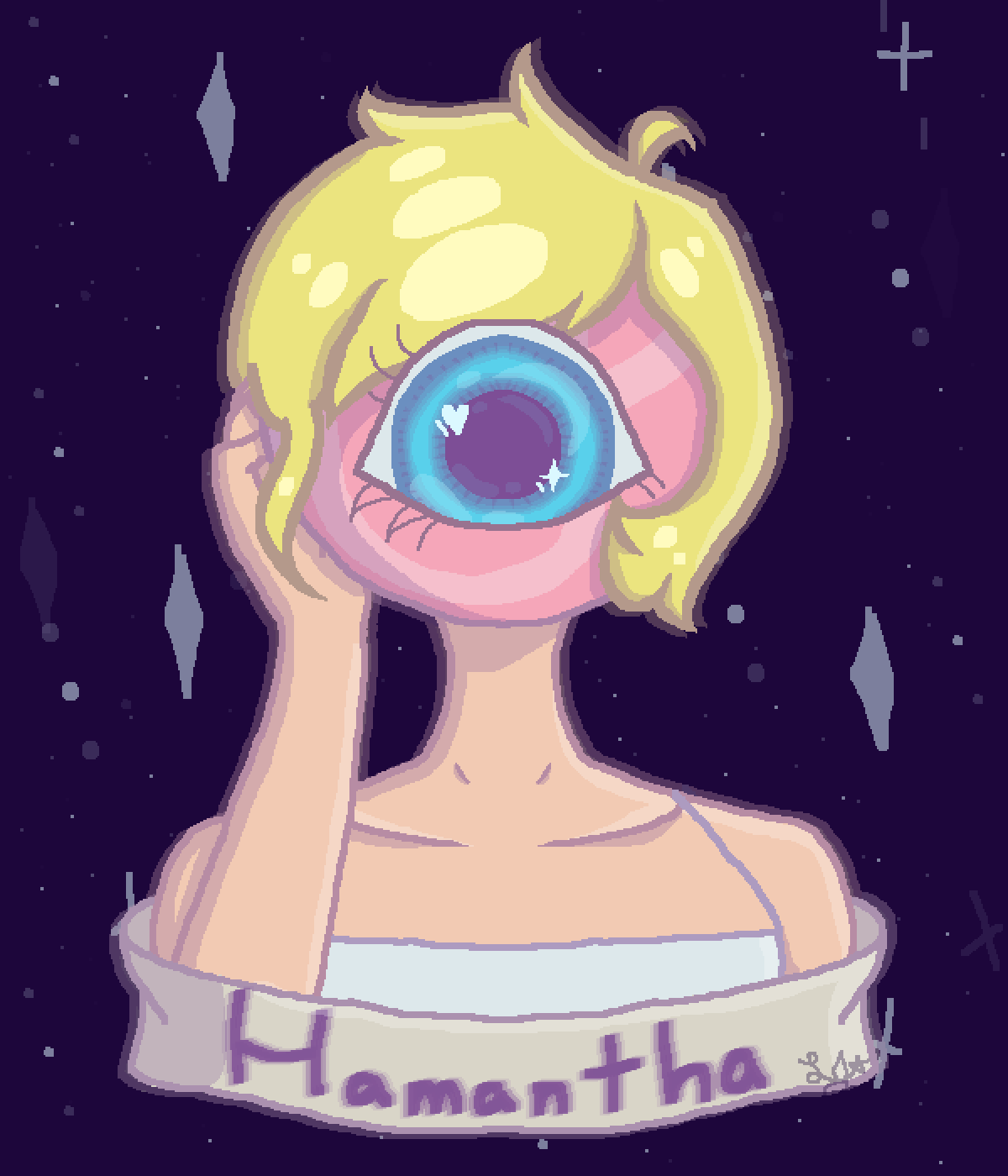 main-image-~ h α m α n t h α ~  by Star-Depressed