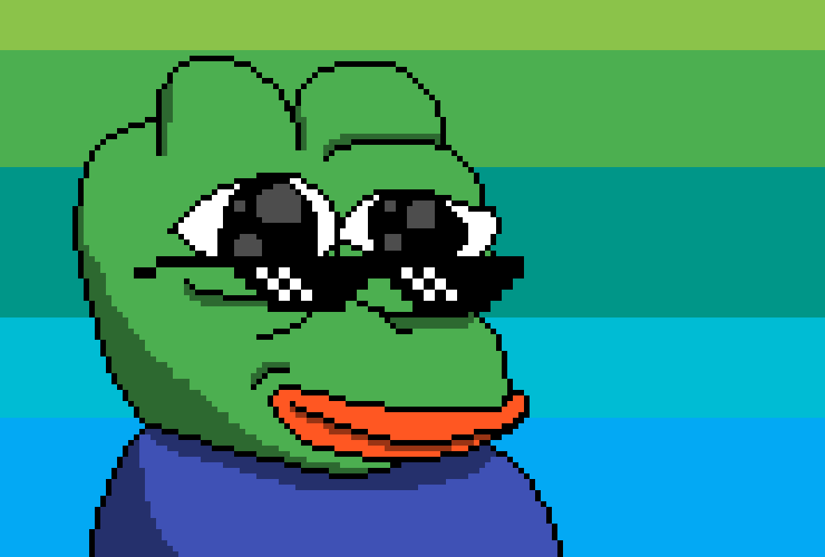 Pixilart Pepe The Frog By Switch Dog
