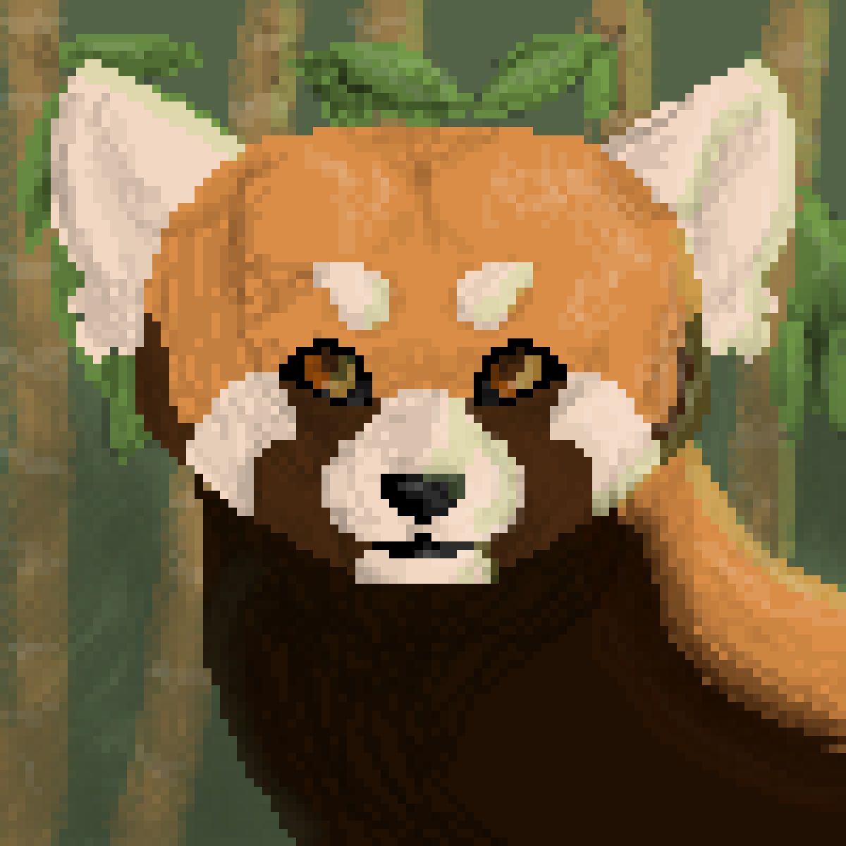 Red Panda by ScatteredLeaves