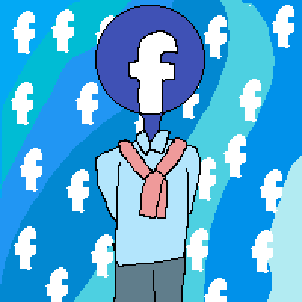 facebook person thing by Fnaf-46