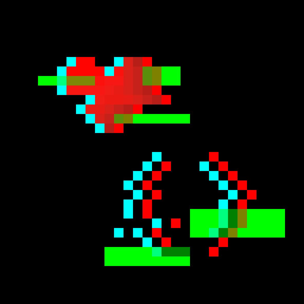 Glitch Art Test #1 by Dinosharkpen