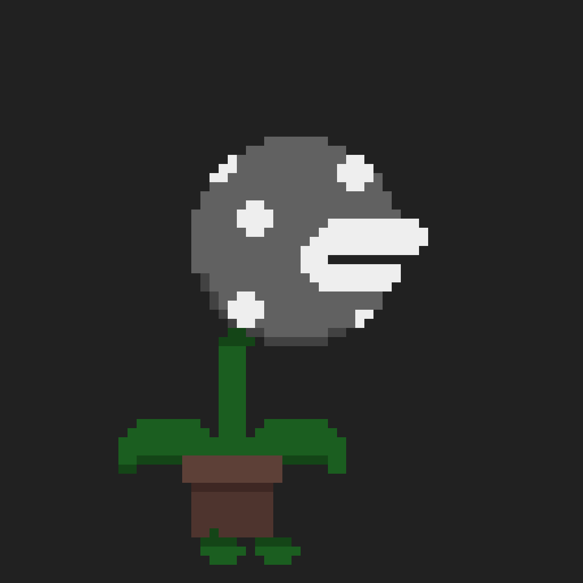 Pirahna Plant Dark alt. by Baconbit