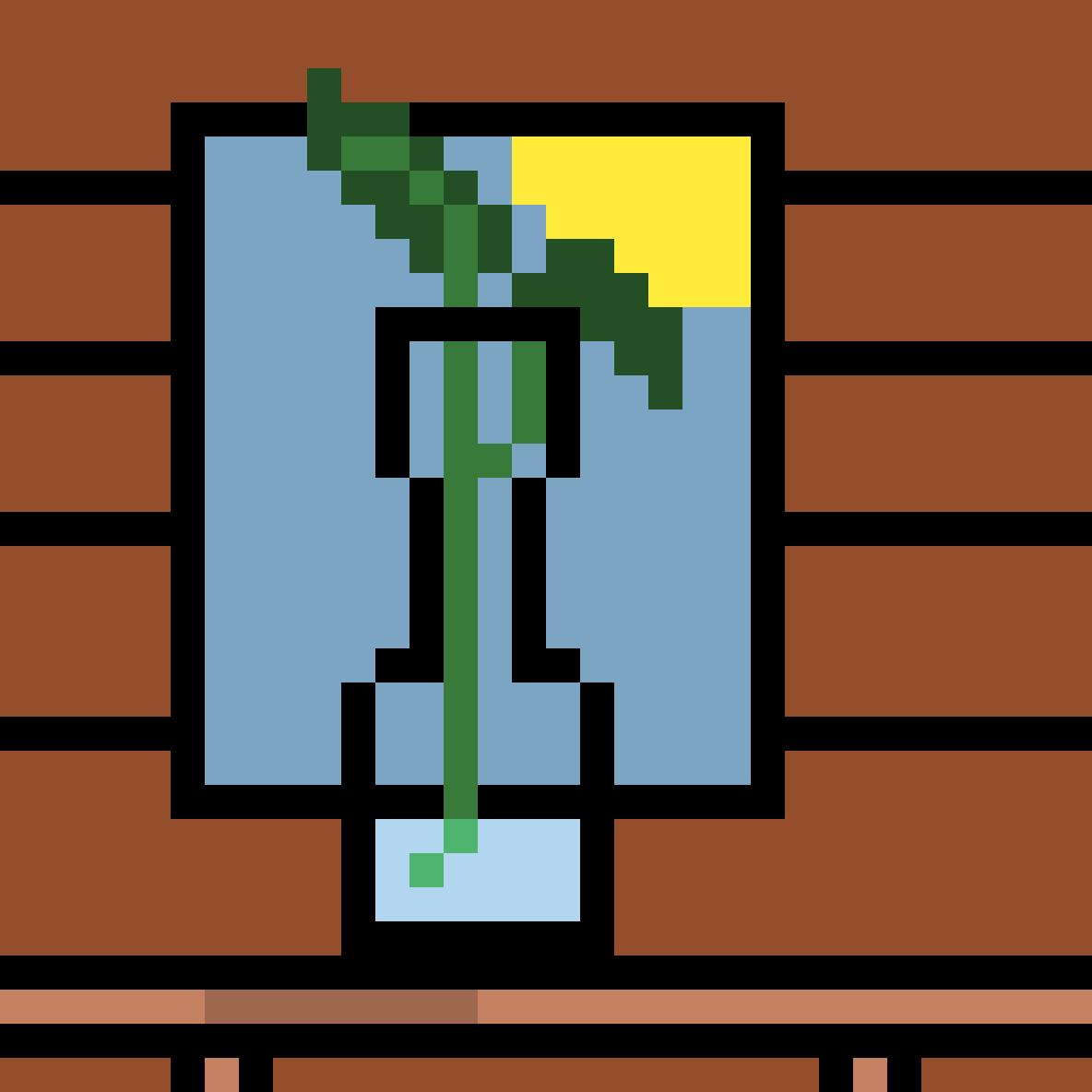 Planted Vase by Mineninja