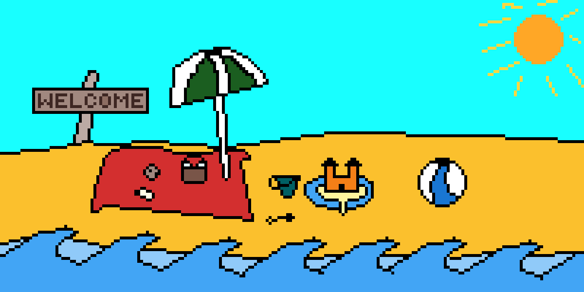 Its a beach. by TryingStuffOut