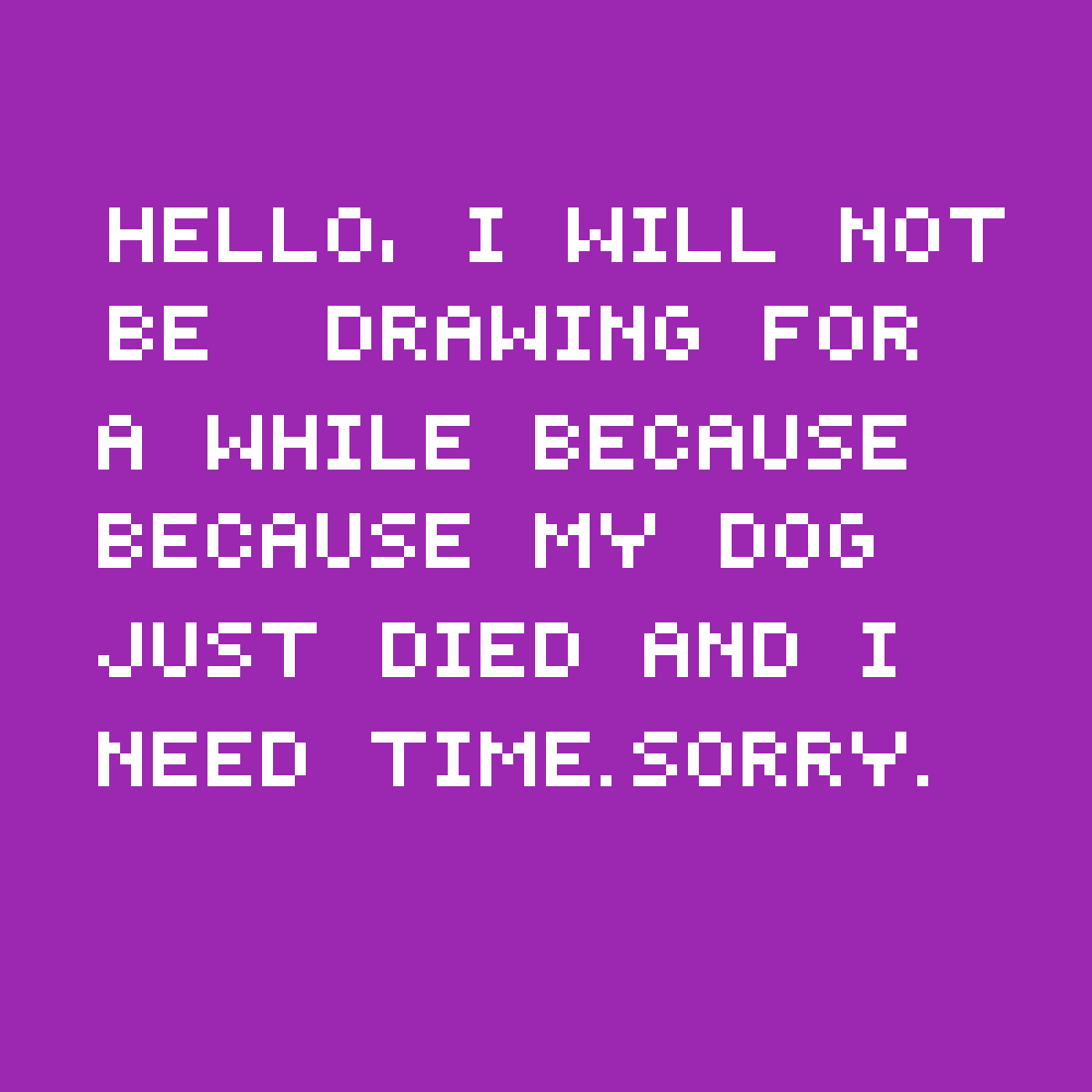 Im sorry by DreamyArtDemon