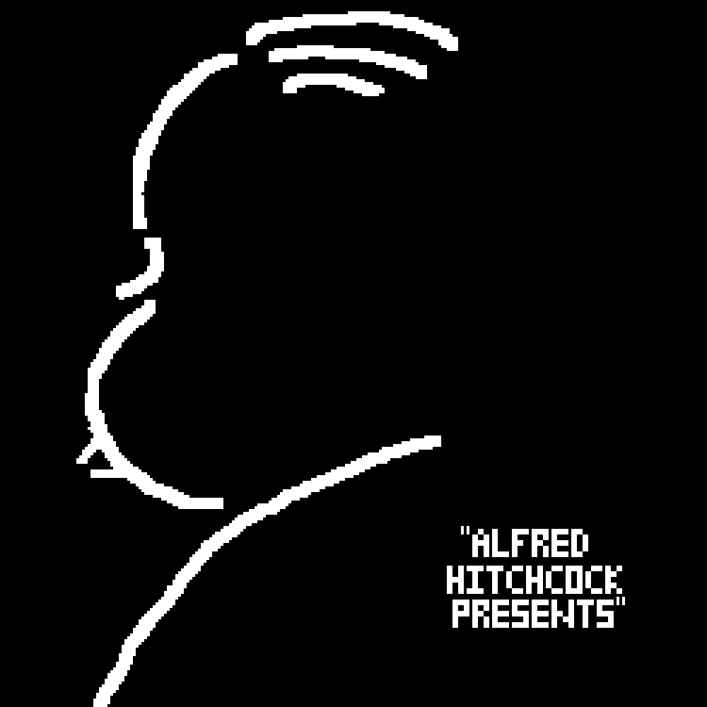 """""""Alfred Hitchcock Presents"""" by Capi"""