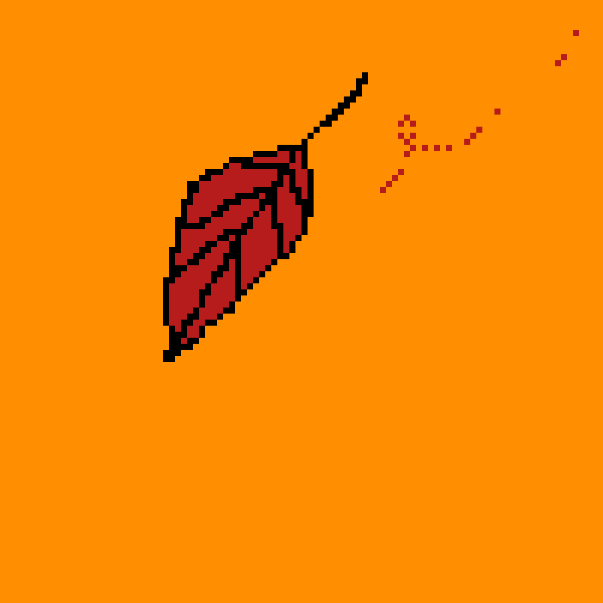 Leaf by PixelNArt