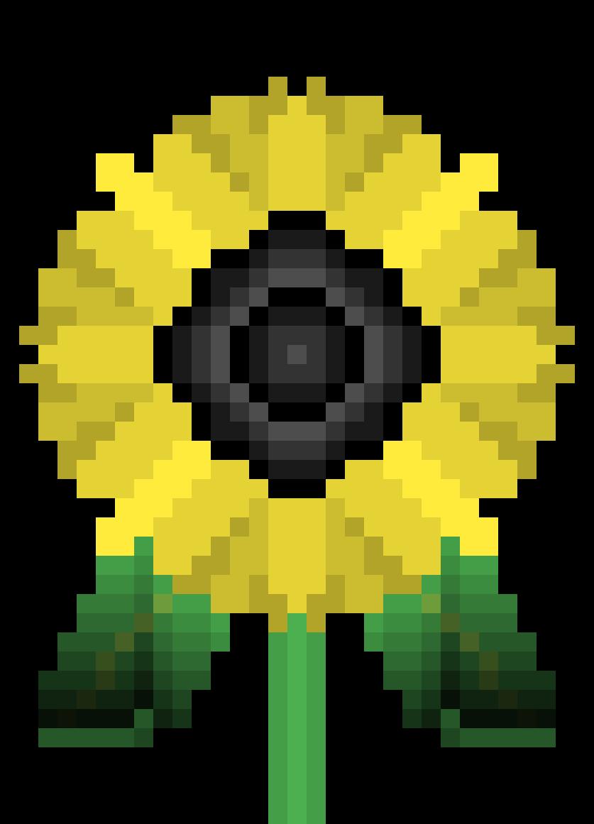 sun flower by CodebotLB