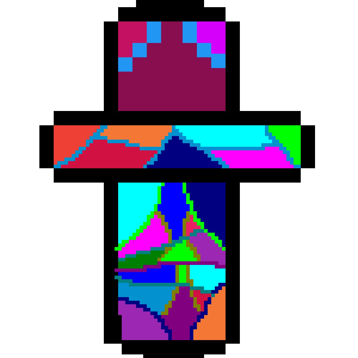 A weird looking cross by KatGirl
