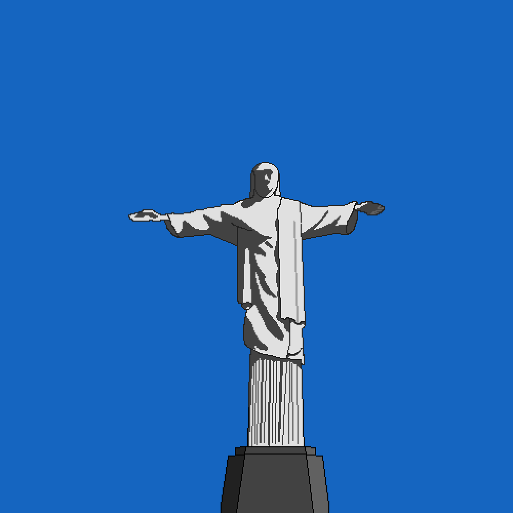 christ the redeemer by Cometbot77