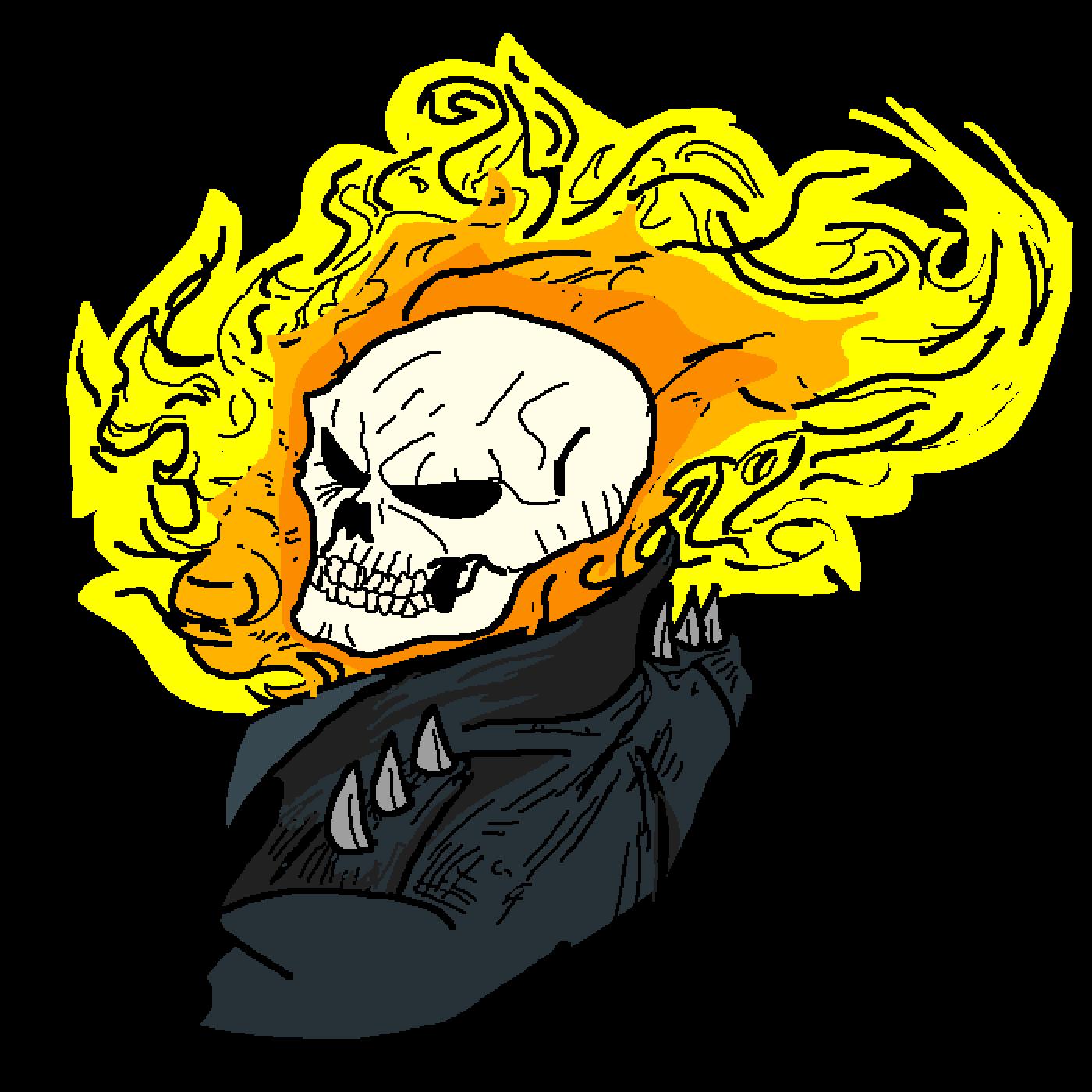 Ghost Rider by Neko-Loli