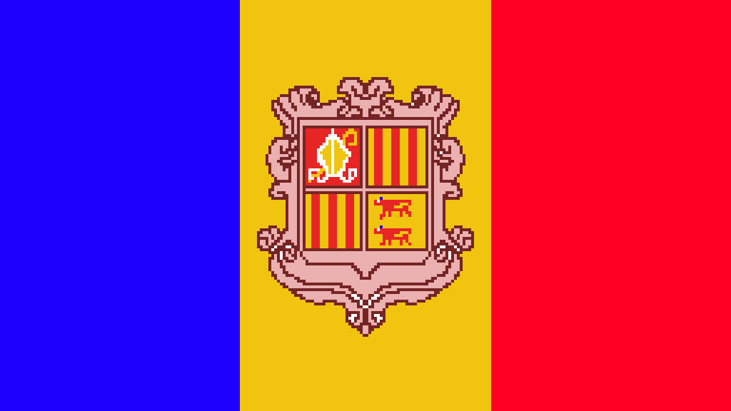 Bandeira do Andorra by KOMBATENT