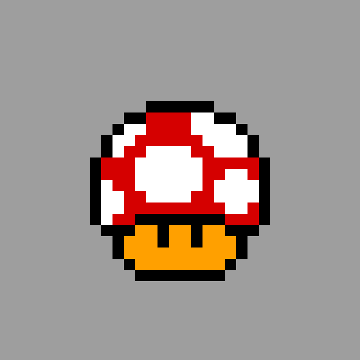 mario mushroom  by pixelDan