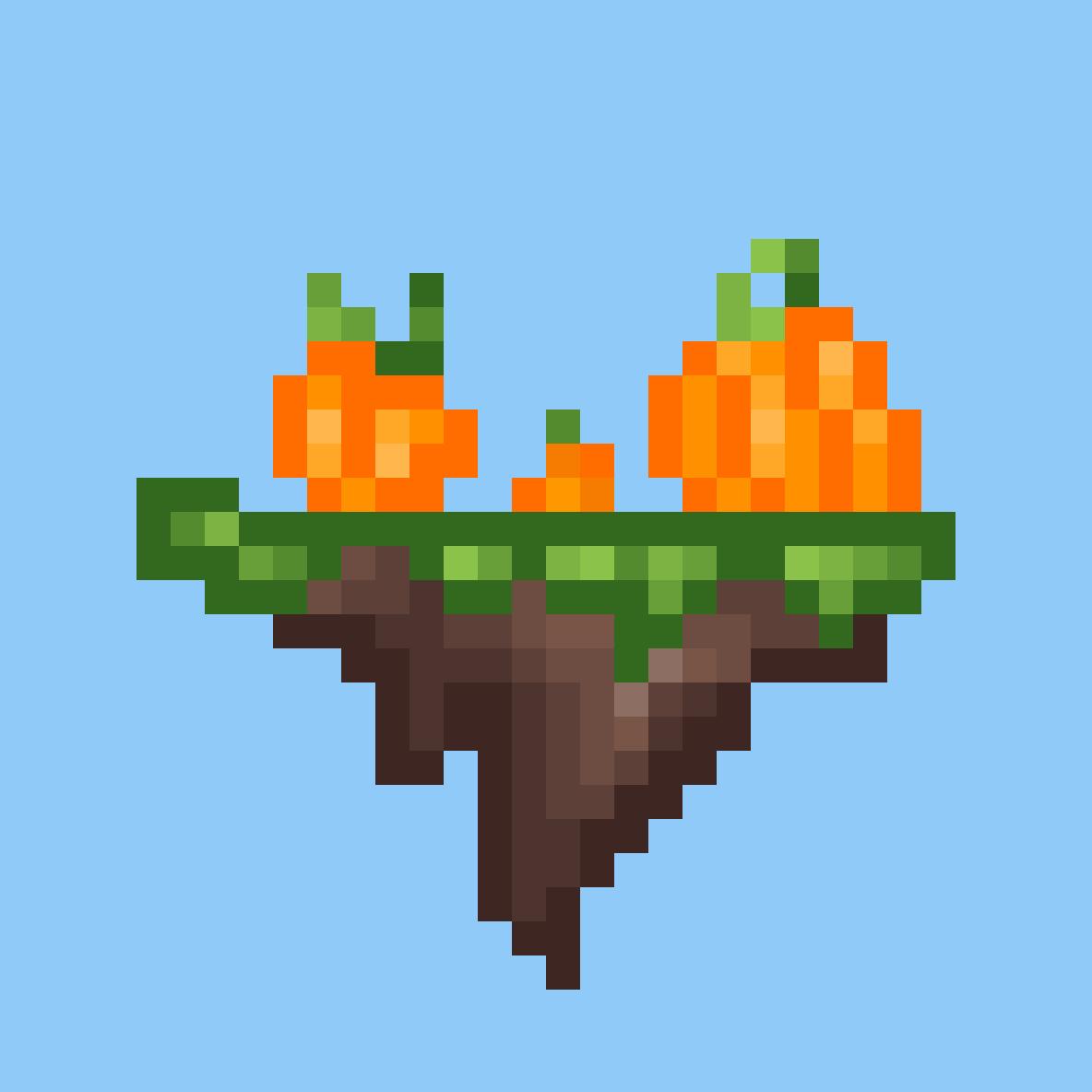 lil pumpkin family by Sparky158