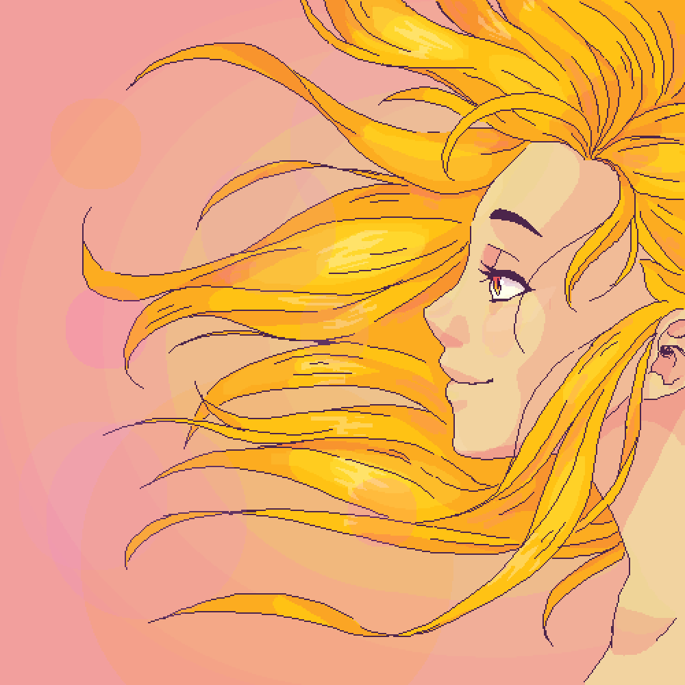 main-image-Golden hair  by Wilmutt