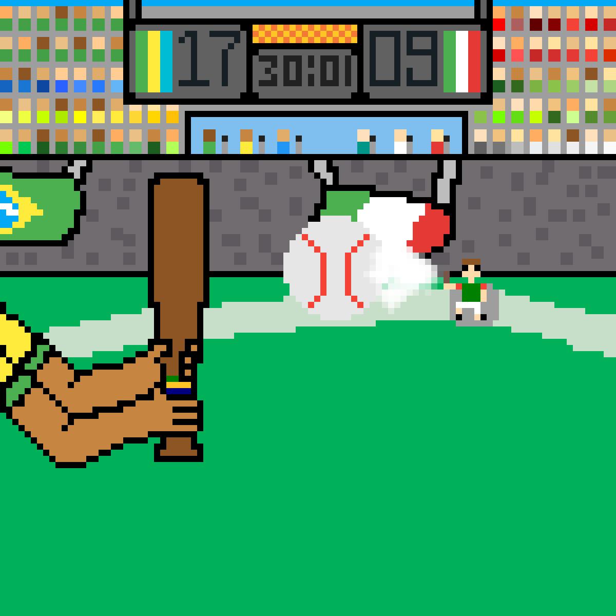 main-image-Baseball Match  by MiguelMCF22