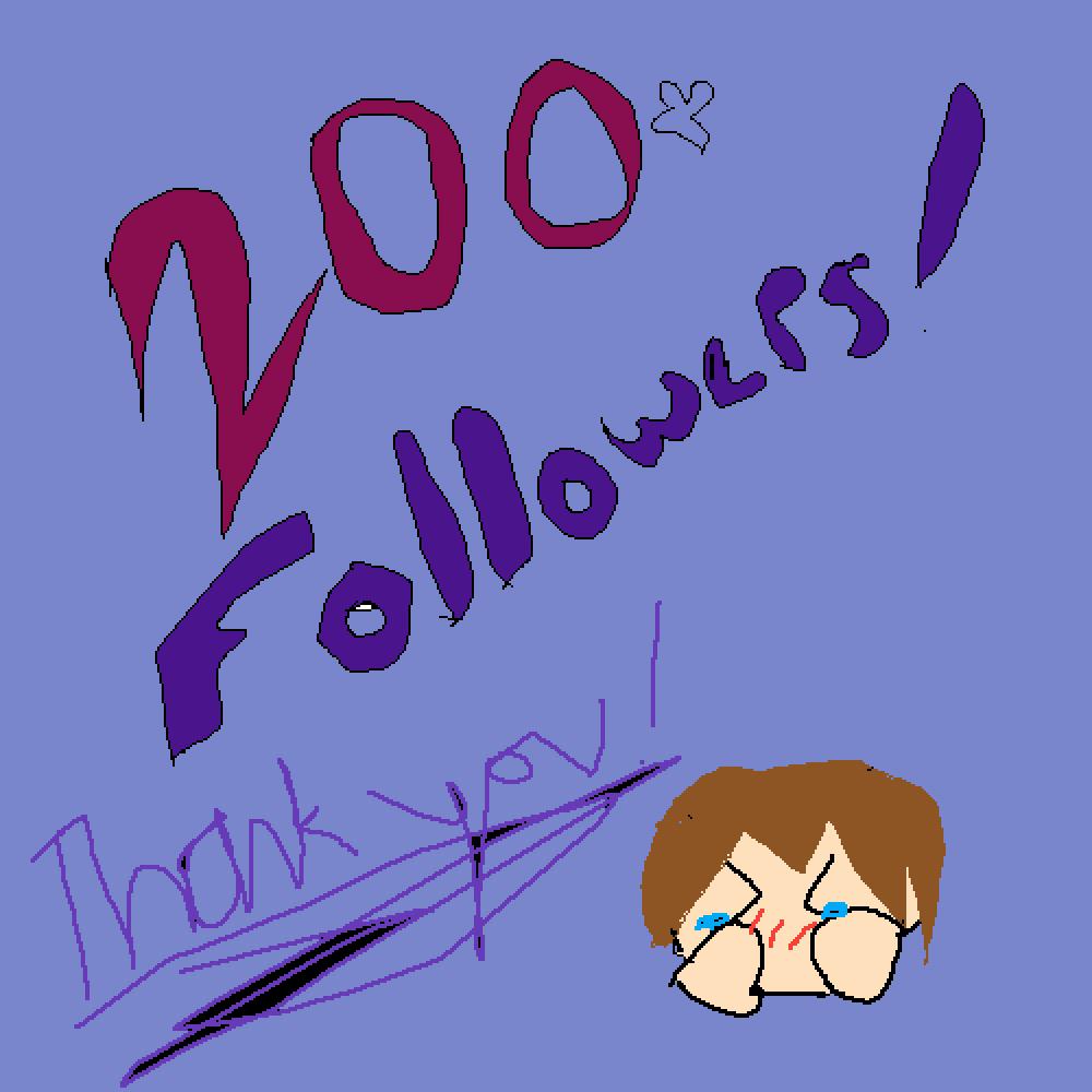 200+ Followers!!! by Splatoon2Octo