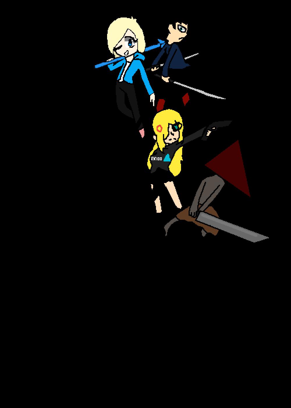 The Ten Chibi Warriors (Add Your Own - Orig: EmilyEvilC by PugglesaurusRex