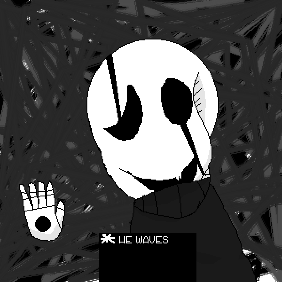 gaster by Fox-piper