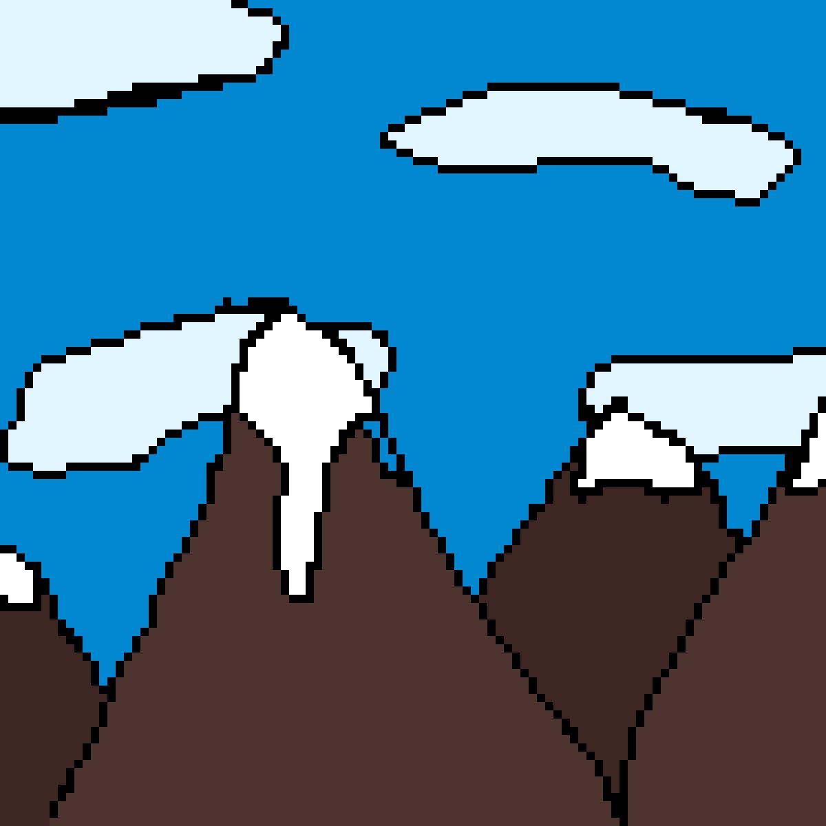 Mountains by EricaJacqueline