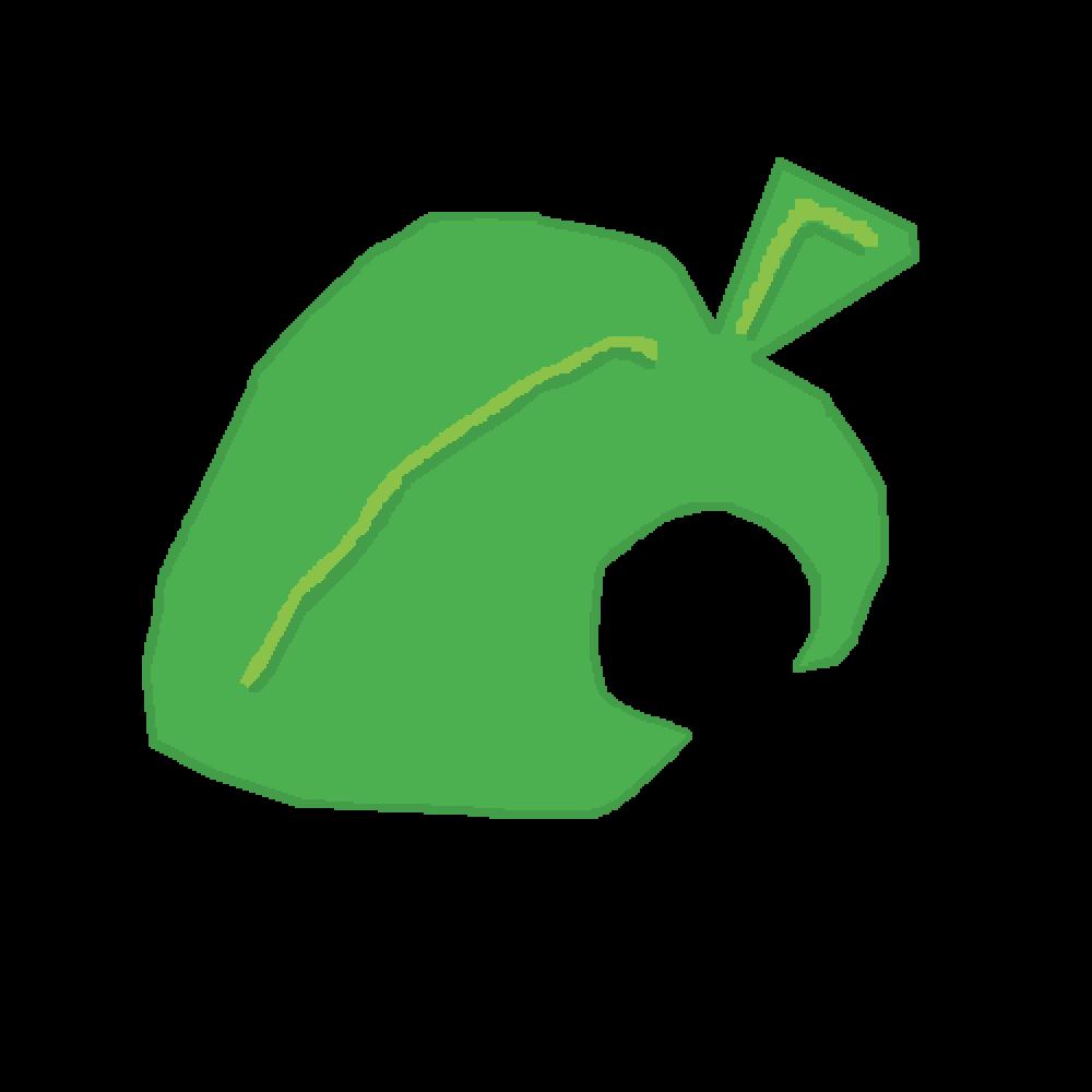 Pixilart Animal Crossing Leaf By Averagebean
