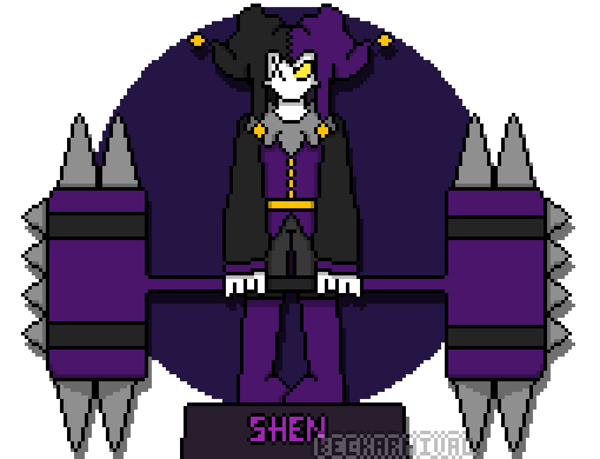 Shen sprite by PuzzlingJester