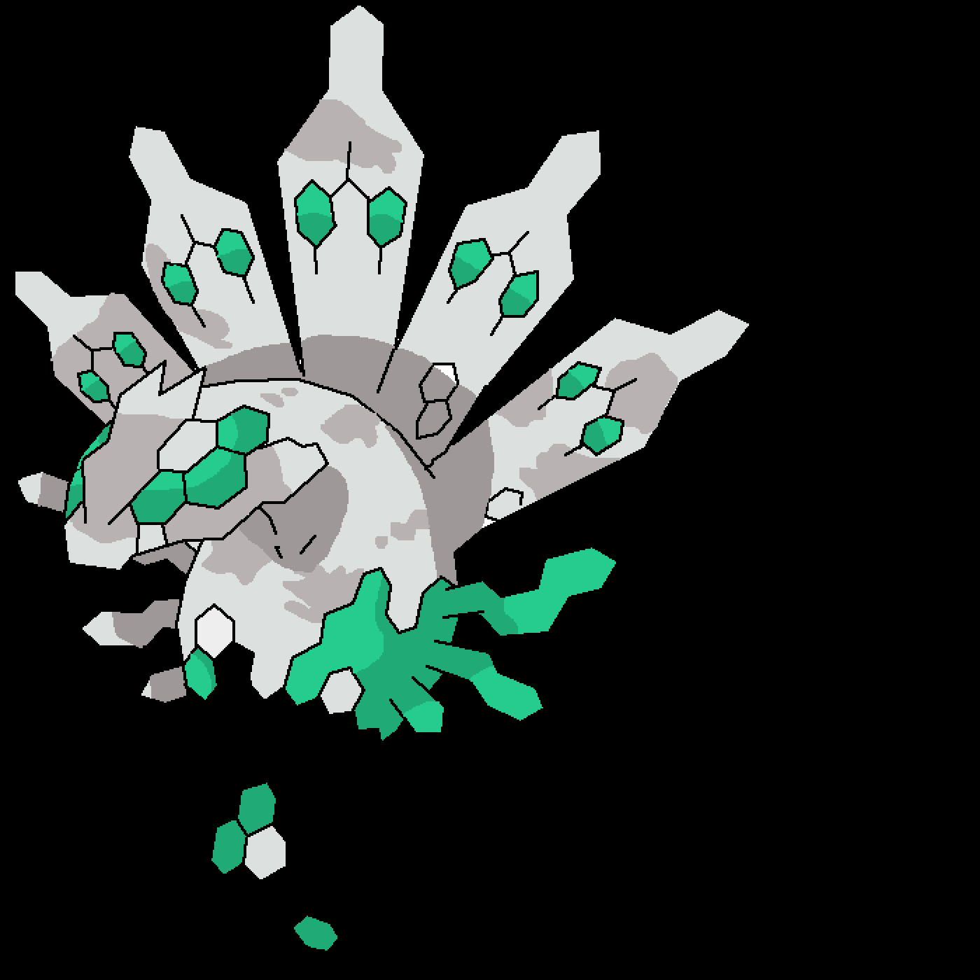 main-image-shiny  zygarde  by its-zygarde-omg