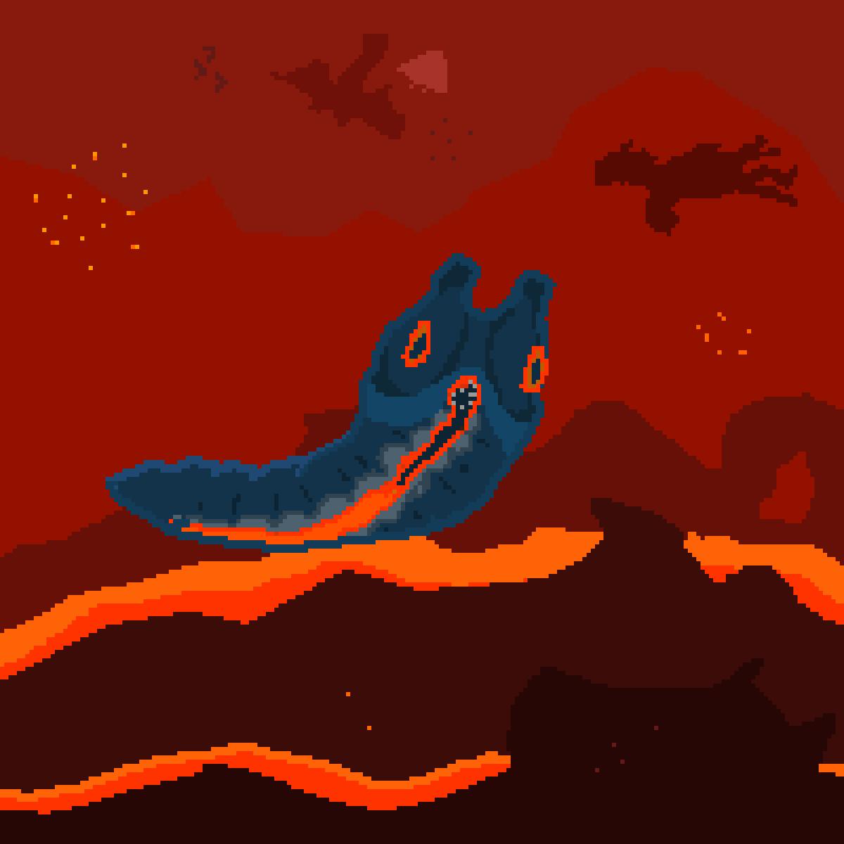 Lava Larva - Subnautica by D7588888888