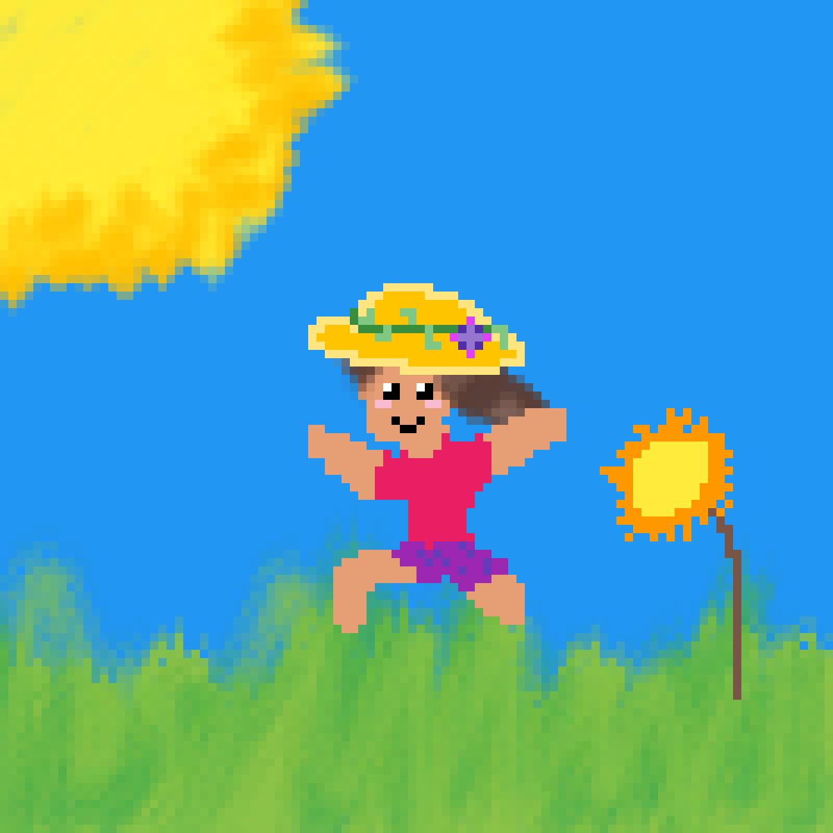 Spring by PandaPixelgirl