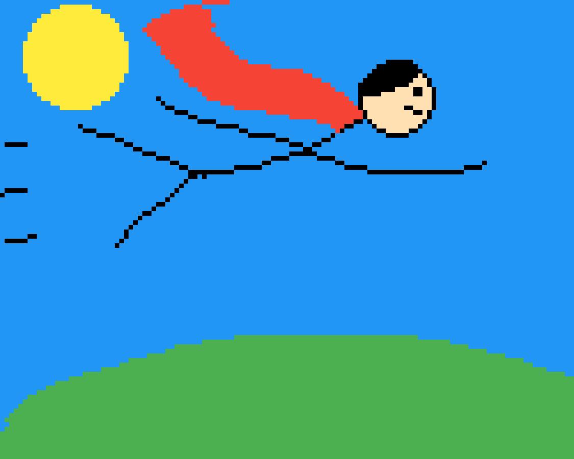 Flying by Freddybonnie